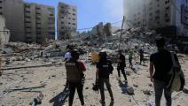 قصف برج الجلاء (عبد الحكيم أبو رياش)