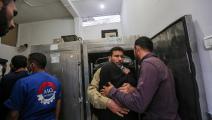 ضحايا القصف الإسرائيلي على غزة (عبد الحكيم أبو رياش)