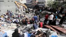 مجزرة للإحتلال في غزة (عبد الحكيم أبو رياش/العربي الجديد)