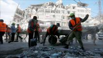 """مبادرة """"حنعمرها""""- غزة (عبد الحكيم أبو رياش/العربي الجديد)"""