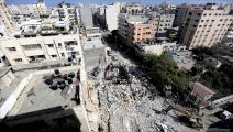 مجزرة للإحتلال في غزة 4(عبد الحكيم أبو رياش/العربي الجديد)