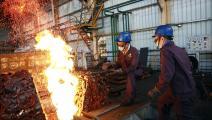 مصهر نحاس في الصين (
