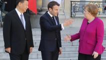 الرئيس الصيني شي أثناء زيارته لأوروبا في مارس 2019