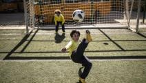 الرياضة مهمة لأطفال الأردن اليوم (مايا حتي/ فرانس برس)