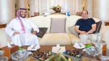 السيسي يستقبل بن سلمان في شرم الشيخ