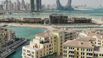 أبراج لوسيل قيد الإنشاء في قطر