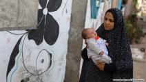 تيم محمود المدهون رضيع استشهد والده في غزة 1 (محمد الحجار)