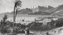 رسم لبيروت في القرن التاسع عشر - القسم الثقافي