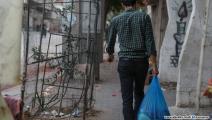 مساعدات غذائية للبيع في غزة 1 (محمد الحجار)