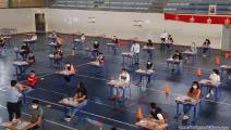 من امتحانات البكالوريا في المغرب (العربي الجديد)