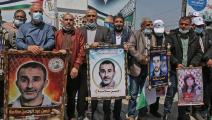 خلال تشييع الشهيد الفلسطيني فادي وشحة (العربي الجديد)