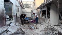 قتلى وجرحى بقصف عفرين شمالي سورية/الدفاع المدني/فيسبوك