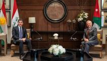 العاهل الأردني يستقبل رئيس إقليم كردستان العراق/ فيسبوك