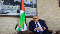 ناجي سرحان وكيل وزارة الأشغال العامة والإسكان في غزة/ عبد الحكيم أبو رياش