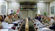 اجتماع اللجنة العراقية الأميركية (تويتر)