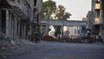 مشاهد تظهر حصار درعا (تويتر)