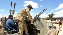 مقاتلون في ليبيا 2 (محمود تركية/ فرانس برس)