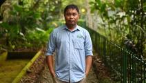 نغويين فان تاي فائز بجائزة نوبل الخضراء (مانان فاتسيايانا/ فرانس برس)