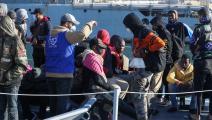 لم يتمكنوا من الوصول إلى أوروبا (محمود تركية/ فرانس برس)