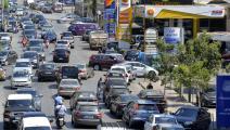 يعيش لبنان أزمة وقود (حسام شبارو/ الأناضول)