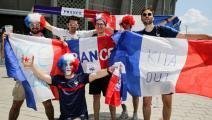 6 مشجعين يضيعون مباراة فرنسا بسبب خطأ جغرافي طريف