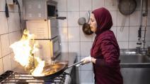 ملكة جزماتي لاجئة سورية في ألمانيا (مايا هيتيي/ Getty)