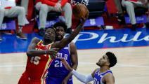السلة الأميركية: فيلادلفيا سيكسرز يفرض التعادل على أتلانتا