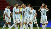 """""""كوبا أميركا"""": الأرجنتين إلى الدور ربع النهائي"""