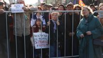 احتجاج مدافع عن حرية الصحافة في روسيا عام 2019 (نيكيتا شفيتسوف/الأناضول)