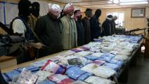 ضبط مخدرات في العراق (عصام السوداني/ فرانس برس)