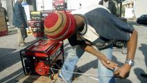 مولدات كهرباء في العراق/ فرانس برس