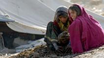 الفقر وراء انتشار السل في أفغانستان (مسعود حسيني/فرانس برس)