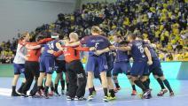 psg handball celebrate