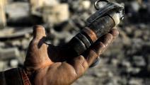 ألغام في سورية (فرانس برس)