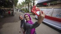 الشابات لا يمكنهن الحجز في الفنادق المصرية بمفردهن (صلاح ملكاوي/ فرانس برس)