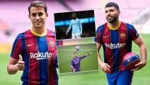 """قبل أغويرو وغارسيا... 6 صفقات عُقدت بين برشلونة و""""سيتي"""""""