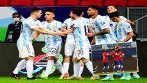 """""""كوبا أميركا"""": انتصارات مهمة للأرجنتين وتشيلي"""
