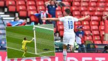 """أجمل أهداف البطولة... باتريك تشيك يدخل تاريخ """"يورو 2020"""" بهدف عالمي"""