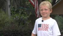 طفل أميركي يسبح ساعة لإنقاذ والده وشقيقته- تويتر