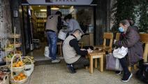 الجمعيات الانسانية توزع الطعام على الفقراء في بيروت