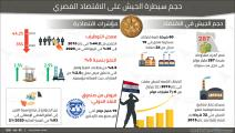 حجم سيطرة الجيش على الاقتصاد المصري