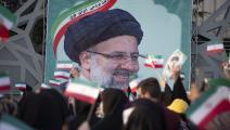 مناصرون لرئيسي في طهران