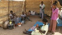 أثيوبيون لاجئون في القضارف بالسودان (محمود حجاج/ الأناضول)