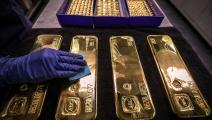 الذهب يحقق مكاسب سعرية (getty)