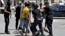 توقيفات كثيرة في تونس لأسباب مختلفة (فتحي بلعيد/ فرانس برس)