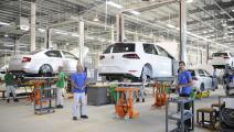 مصنع تجميع سيارات فولكسفاغن بالجزائر (Getty)