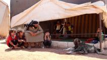 في مخيم القاهرة (العربي الجديد)