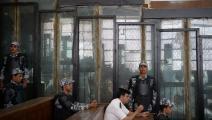 محاكمات في مصر (محمد الشاهد/فرانس برس)
