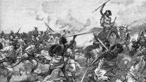 (مشاهد المعارك بين الجيش البريطاني والثورة المهدية عام 1879، Getty)