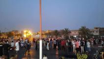 موجة الاحتجاجات تواصل انتشارها في ولايات جنوبالجزائر (فيسبوك)